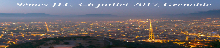 9th International Conference on Corpus Linguistics,  3-6 July, Grenoble